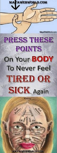 Pressing These Points on Your Body Will Make You Never Feel Tired or Sick Again…. Pressing These Points on Your Body Will Make You Never Feel Tired or Sick Again…,. Pin: 563 x 1120 Health And Beauty, Health And Wellness, Health Tips, Health Fitness, Health Exercise, Health Care, Health Remedies, Home Remedies, Natural Remedies