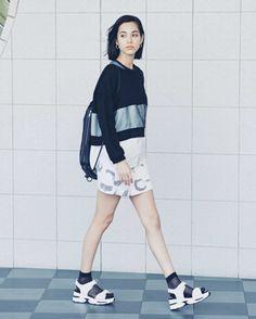 Emoda meets Kiko Mizuhara - ViVi Magazine June 2015