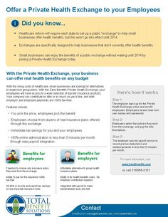 Did you know...your company can offer a private health exchange? www.totalbenefits.net
