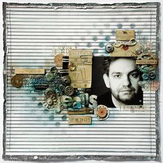 a must do layout. Bordering on Tim Holtz style