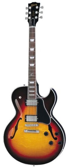 Gibson ES137 Classic Electric Guitar. Beautiful when shiny and new.