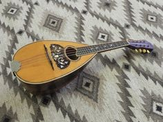 Beautiful RARE 1890-1905 Ditson Victory Bowlback Mandolin. $799.00, via Etsy.