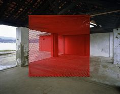 Untitled by Georges Rousse