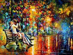 ...by Leonid Afremov.