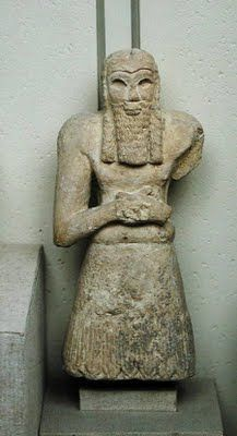 Ginak, Prince of Edin-E. Sumerian, Northern Mesopotamia, Millenium B.