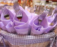 REAL PARTIES: Lovely Lavender Theme