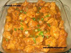 Indian Recipes - Orange Chicken