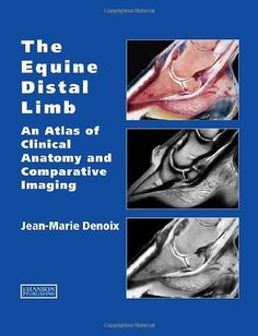 The Equine Distal Limb: An Atlas of Clinical Anatomy and Comparative Imaging by Jean Marie Denoix