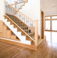 Solar Home - traditional - staircase - houston - by RD Architecture, LLC