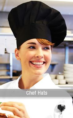Chef Hats in every color and style.