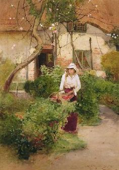Grandmas Garden von Carlton Alfred Smith