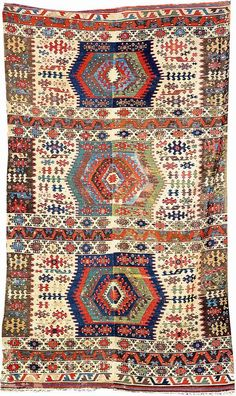 Konya 'Kilim', Central Anatolia, mid. 19th century.