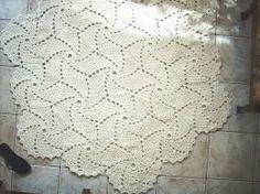 Resultado de imagem para toalhas em croche ispirais