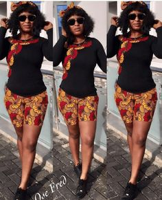 Trendy Prints And Style From Ankara Fabric - Fashion Ruk Short African Dresses, African Blouses, African Print Dresses, African Fashion Ankara, Latest African Fashion Dresses, African Print Fashion, Couples African Outfits, African Attire, Chitenge Outfits