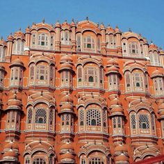 Hawa Mahal the Palace of the Winds in Jaipur India. Built by Maharaja Sawai Pratap Singh in 1799 for the ladies of the royal household it connects to the zenana (womens chambers) of the City Palace. Thanks to #gadv traveller @katie_mcbain for this pic! #regram Hotels-live.com via https://instagram.com/p/-tmRbJCqjV/