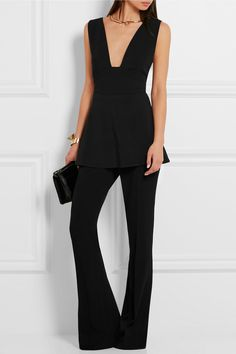 Stella McCartney | Amanda stretch-cady top | NET-A-PORTER.COM