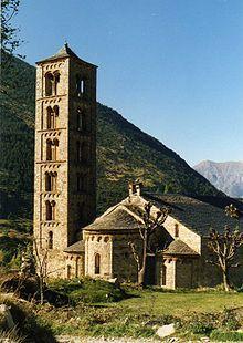 San Clemente di Taull, consacrata nel 1123, fa parte delle chiese romaniche catalane della Vall de Boì.
