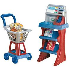American Plastic Toys My Very Own Shop N' Pay Market