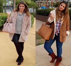 Осенняя подборка модных образов для женщин размера +
