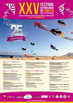 International Kite Festival Corralejo 2012 #Fuerteventura