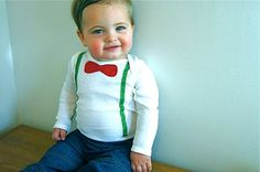 Oh my word! Adorable. I'm not sure if the shirt or little man sells me on this one.