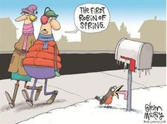 First Day Of Spring Cartoon