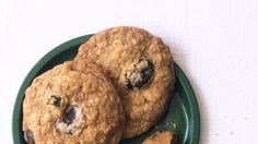 Chocolate-Chip Oatmeal Cookies with Dried Cherries Recipe | Bon Appetit