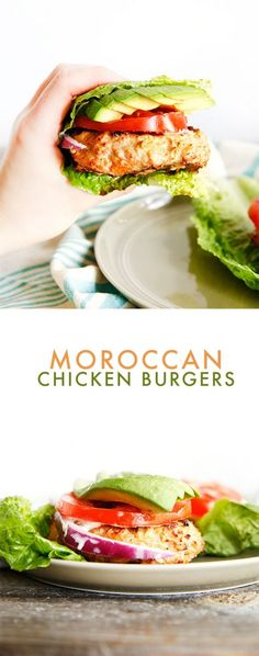 These Moroccan Chicken Burgers are packed with flavor and make for the perfect light Spring or Summer chicken burger! You'll …
