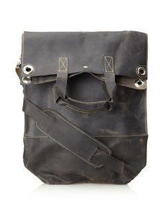 63% OFF Oliberté Men's Blamo Bag (Black/Grey)