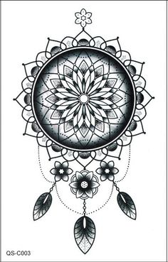Dreamcatcher Temporary Tattoo, Tribal Boho Bohemian Back Tattoos – MyBodiArt