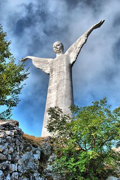 Cristo Redentore, Maratea, Basilicata, Italy