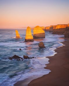 I've just come back after a week of exploring the south coast of Victoria. The conditions  weren't what I hoped for but I still had a great time and have plenty of images to share from the trip. This first image is of the iconic 12 Apostles situated along the Great Ocean Road. by _danieltran_ http://ift.tt/1ijk11S