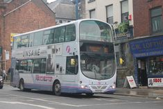 Fleet No: 37432 Reg Plate: DZE Vehicle: Wright Eclipse Gemini / Volvo Route: 81 Manchester Piccadilly Location: Shudehill, Manchester Garage: Oldham Manchester Piccadilly, First Bus, Buses And Trains, Busses, Volvo, Gemini, Transportation, Films, Twins