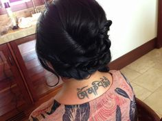 Hair by Chrissy swink
