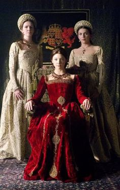 ♥ Romance of the Maiden ♥  A still from The Tudors, BBC.