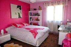 color decoración dormitorio niña