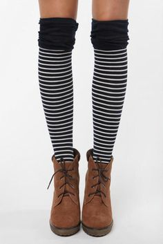 honestly... i'd love a pair of striped tights or knee-high socks...