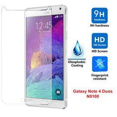 Protector de Pantalla Vidrio CRISTAL TEMPLADO Para Samsung Galaxy Note 4 Duos N9100 - http://complementoideal.com/producto/protector-de-pantalla-vidrio-cristal-templado-para-samsung-galaxy-note-4-duos-n9100/  -   Características Protector Pantalla de Cristal Templado Para Samsung Galaxy Note 4 Duos N9100de 0,26mm de grosor. Con este resistente cristal protegerás tu pantalla de todo tipo de golpes y ralladuras. Absorbe los golpes protegiendo tu pantalla de caídas. Fácil