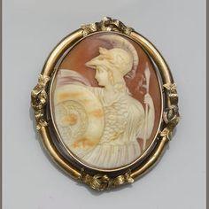 A Victorian cameo brooch