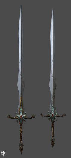 战锤武器原画(二)