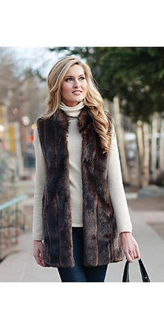 Sable Every-Wear Vest | Fabulous-Furs
