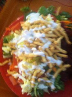 Loaded Cesar salad
