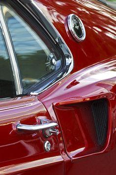 1969 Ford Mustang Mach 1 Side Scoop Photograph ● Jill Reger Fine Art