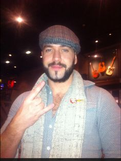 Our friend Shayne Ward with our special Forever Manchester pin #ShowUsYourPin #Manchester
