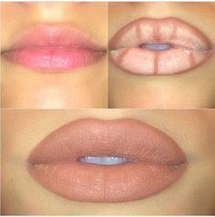 Make up Lip Contouring, Contour Makeup, Skin Makeup, Makeup Goals, Love Makeup, Makeup Tips, Makeup Ideas, Makeup Tutorials, Nail Ideas