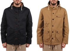 Universal Works Double Scout Reversible Wax Parka #fashion #apparel