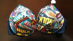 Awesome! marvel comics bra by tefa23 on Etsy, $26.00