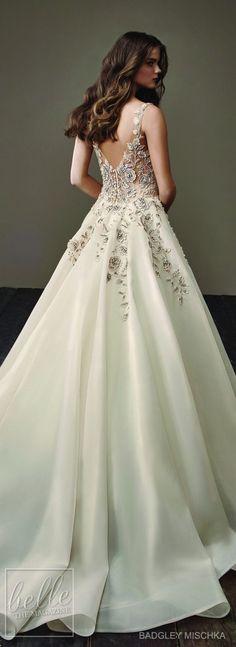 Wedding Dress by Badgley Mischka Bride Collection 2018