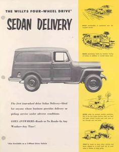 Jeep Pickup, Jeep Truck, Ford Rural, Willys Wagon, Military Jeep, Sign Company, Four Wheel Drive, Station Wagon, Poetry Quotes