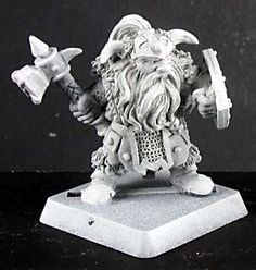 Dwarf Barbarian Captain by Reaper Miniatures 14146